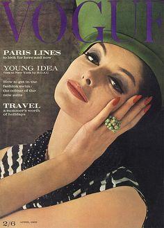 Vogue Magazine April 1962