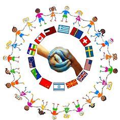 La maestra Linda: Imparo a contare Pre School, Sunday School, Diversity Activities, Harmony Day, Page Borders Design, Class Displays, School Hallways, German Language Learning, Pace