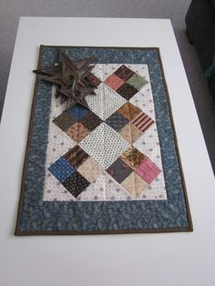 Civil War 4Patch Hand Quilted Quilt by thePATchworksshop on Etsy
