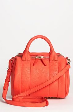 Rockie Leather Satchel Tang