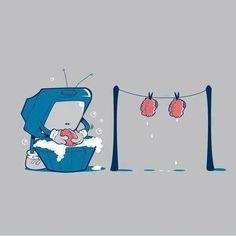 Brain Washing...