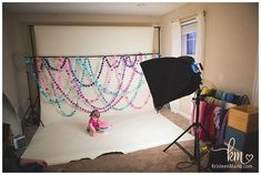 Pink & Teal Cake Smash Session: Whitestown, IN Photographer Cake Smash Backdrop, Diy Backdrop, Backdrops, Twin Cake Smash, Cake Smash Photos, 1st Birthday Cake Smash, 1st Birthday Girls, Teal Cake, First Birthday Photography
