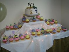 50th Wedding Anniversary - cute idea for the sweets!