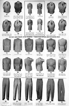 Gentlemen,au risque (assumé) de me répéter, je trouve que les années 30 sont définitivement (au moins pour nos contemporains chercheurs en style) les années les plus inspirantes en matière d'élégance masculine. Les sublimes catalogues de l'époque en témoignent sans équivoque.Ce catalogue 'Automne-Hiver' de 1937 de la maison 'Chicago Woolen Mills Co' est un pur régal et une source d'inspiration quasi inépuisable. En tous cas chez PG on ne s'en lasse pas...Isn't it amazingly elegant ?Cheers…