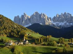 St. Magdalena in the Dolomites, Italy