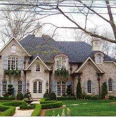42 Best French Country Houses Exterior Images Arquitetura Brick