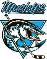 1989, Lindsay Muskies (Lindsay, Ontario) Conf: North-East Div: North #LindsayMuskies #LindsayOntario #OJHL #Canada (L9796)