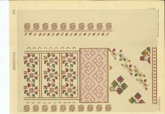 CUSATURI ROMANESTI - ELISA I. BRATIANU 178 Folk Embroidery, Embroidery Designs, Document Sharing, Drawing Board, Pattern Books, Blackwork, Diy And Crafts, Projects To Try, Cross Stitch
