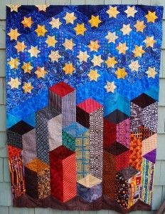 Pattern is Oh My Stars by Marci Baker