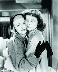 Katharine Hepburn and Ginger Rogers in Stage Door - 2 of my fav ladies in one of my fav movies