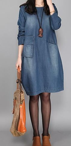 Women s Casual Daily Loose Dress 4793f91a4a33