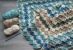 The Bavarian crocheted blanket