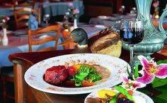 Auberge des 3 Canards in Charlevoix Quebec Canada has award-winning cuisine
