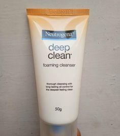 Now, when they mean 'deep clean', they are not kidding 1 #gprecommends #gpreviews  Neutrogena Neutrogena Deep Clean Foaming Cleanser Worth a Dekko for Oily Skin https://www.glossypolish.com/neutrogena-deep-clean-foaming-cleanser-worth-a-dekko-for-oily-skin/ @Neutrogena