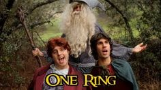 The Hobbit - ONE RING (One Direction 'One Thing' Parody), via YouTube.Ive seen this before and I LOVE IT!!!