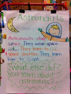 Welcome to Room 36!: Astronaut Anchor Chart