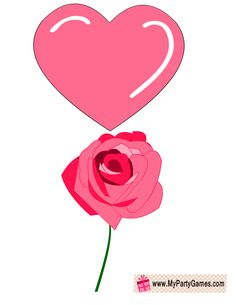 rose-heart-photo-booth-prop-bridal-shower.png 612×792 pixels