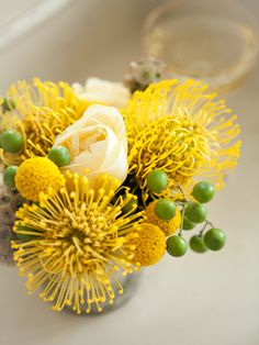 Fantastic yellow bouquet