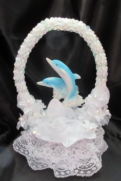 plastic wedding cake topper bases dolphin cakes dolphins and cake toppers on 18663