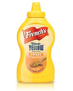 French's Classic Yellow Sweet Mustard. Experience the tang of our French's Classic Yellow with a burst of irresistible sweetness made with brown sugar