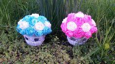 Črepníky s ružami