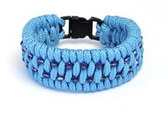 Paracord ladder weave blacelet in turquoise with tanzanite swarovski xilion beads Paracord Ideas, Paracord Bracelets, String Of Pearls, Bead Shop, Micro Macrame, Fashion Bracelets, Ladder, Jewelry Crafts, Fun Crafts
