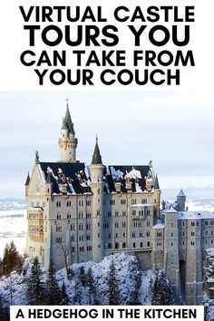 23 Virtual Castle Tours You Can Take From Your Couch Virtual Museum Tours, Professor, Netflix, Virtual Field Trips, Virtual Travel, World Geography, Travel Aesthetic, Walking Tour, Location