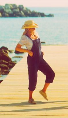 """On the set of """"Mamma Mia!"""" in Greece"""