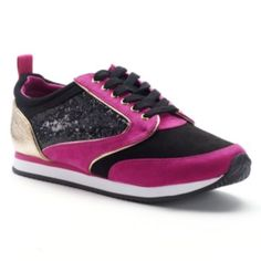 9b194c54016a Juicy Couture Glitter Athletic Shoes - Women s