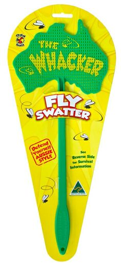 Get the upper hand with The Whacker. A true blue Aussie fly swatter designed specifically for Australian conditions.
