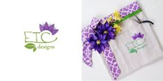 apron designed for etc floral designs.