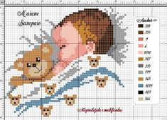 Cross Stitch Owl, Baby Cross Stitch Patterns, Cross Stitch Flowers, Cross Stitch Designs, Cross Stitching, Cross Stitch Embroidery, Pixel Design, Needlepoint Designs, Baby Crafts