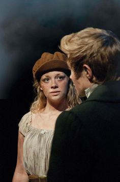 Carrie Hope Fletcher as Eponine (with Marius) in Act 2 of Les Miserables, UK. Photo by Johan Persson Les Miserables Musical London, Eponine Les Miserables, Eponine London, Carrie Hope Fletcher, Great Novels, Musical Theatre, I Movie, Carry On, Actors & Actresses