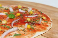 Vegano per amore - ricette vegane: PIZZA TORTILLA VEGAN