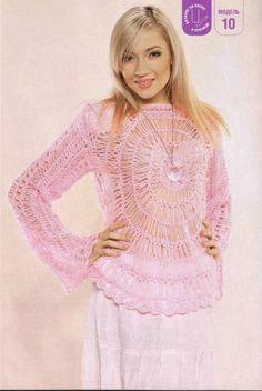 Pattern: Broomstick Crochet Pullover http://img-fotki.yandex.ru/get/6405/47537984.87/0_945b2_17cd008f_orig.jpg