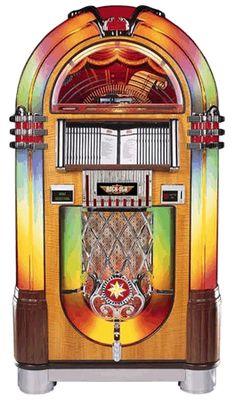 Rock Ola CD Bubbler Jukebox | Model CD-8C / J-70324-A / J-70325-A / J-703260-A | From Rock Ola Jukeboxes  |   Get more information about this game at: http://www.bmigaming.com/games-catalog-rockola.htm