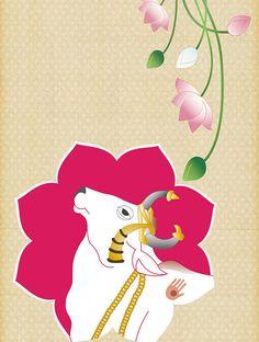 Lotus Painting, Watercolor Paintings Abstract, Painting Tips, Painting Art, Pichwai Paintings, Indian Art Paintings, Madhubani Art, Madhubani Painting, Rajasthani Art