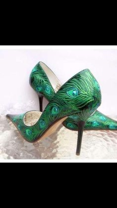 Emerald Stilettos :)
