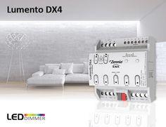 Unsere erfolgreichen LED-Dimmer der LUMENTO-Familie erhalten großen Zuwachs. Zennio präsentiert: den Lumento DX4! 4 Kanäle, REG-Gerät, 6A pro Kanal und 6 analog/digitale Eingänge! ---> http://zennio-deutschland.de/produkte/beleuchtung/lumento-dx4