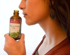 Eucalyptus is my favorite oil to clear up congestion. I smell it straight from the bottle, sprinkle it all over my upper body (clothes) and rub it on my chest and neck. It works!