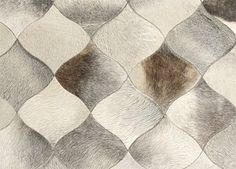 Wovenground | Leather Rugs | Scales Rugs