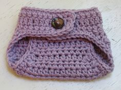 Free Crochet Baby cocoon Patterns | Baby Diaper Cover Pattern - Wild Plum Purple | Flickr - Photo Sharing!