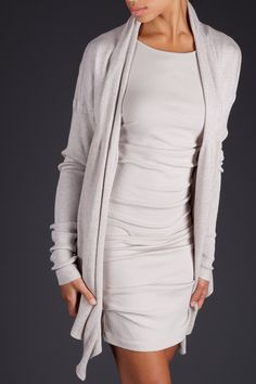 Tucked tunic dress. Jarbo collection