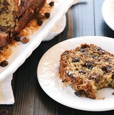 Chocolate Coconut Banana Bread is a soft, moist, easy-to-make quick bread bursting with ripe banana, creamy chocolate chips, and chewy coconut! Zucchini Bread Recipes, Banana Bread Recipes, French Dip Recipes, Brown Gravy Recipe, Ground Beef And Broccoli, Cilantro Lime Vinaigrette, Coconut Banana Bread, Mint Recipes, Dessert Recipes