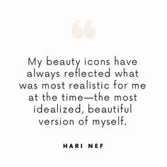 """""""What I've Got Is What They Want"""": Hari Nef Gets Real About Body Image and Fame via @ByrdieBeauty"""