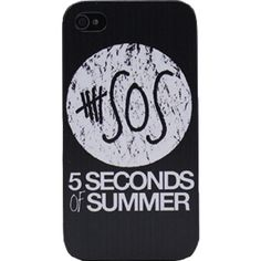 Ycmi 5 SOS 5 Seconds to Summer Hard Phone Case for Apple Iphone 5/5s... found on Polyvore featuring accessories, tech accessories, phone cases и phone