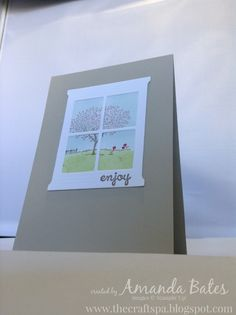 The Craft Spa - Stampin' Up! UK independent demonstrator : CAS Happy Home Card