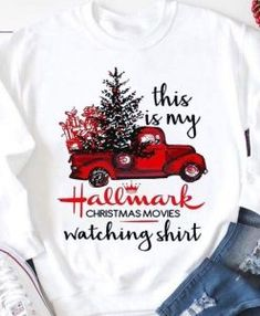 Hallmark Christmas Movies Watching Shirt Baseball T-Shirt Tee. If you love Hallmark Christmas Movies you will NEED this Hallmark Christmas Movie Watching Shirt SVG file! Spend your Christmas in comfort and style in this cute and fun raglan tee. Movie Shirts, Tee Shirts, Tees, Hallmark Christmas Movies, Hallmark Movies, Christian Shirts, Personalized T Shirts, Hooded Sweatshirts, Christmas Clothes
