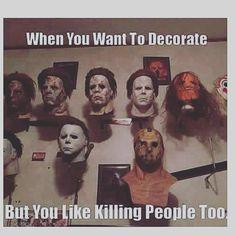 The struggle is real. #pophorror #poppunk #horrorpunk #slasher #horror #horrornerd #horrorfan #halloween