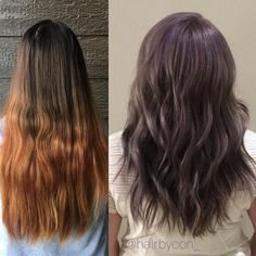 hairbycon_ created this look over a couple of sessions. The end look was created with #KenraColor #MetallicObsession SM + Violet Booster. Love!